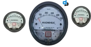 Dwyer 2000-300PA Magnehelic Differential Pressure Gauge