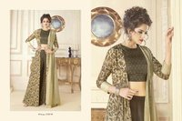 Designer New Style Party Wear Gown Kurti