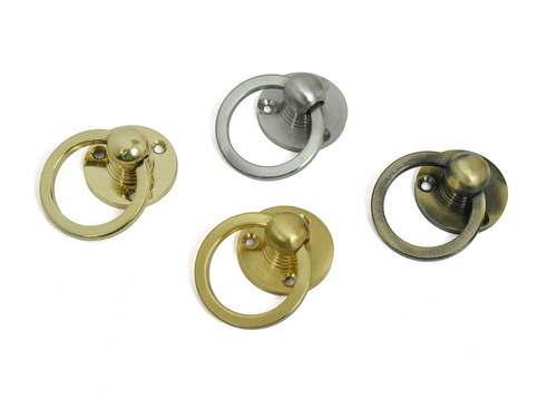 Brass Door Round Ring