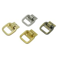 Brass Door Square Ring