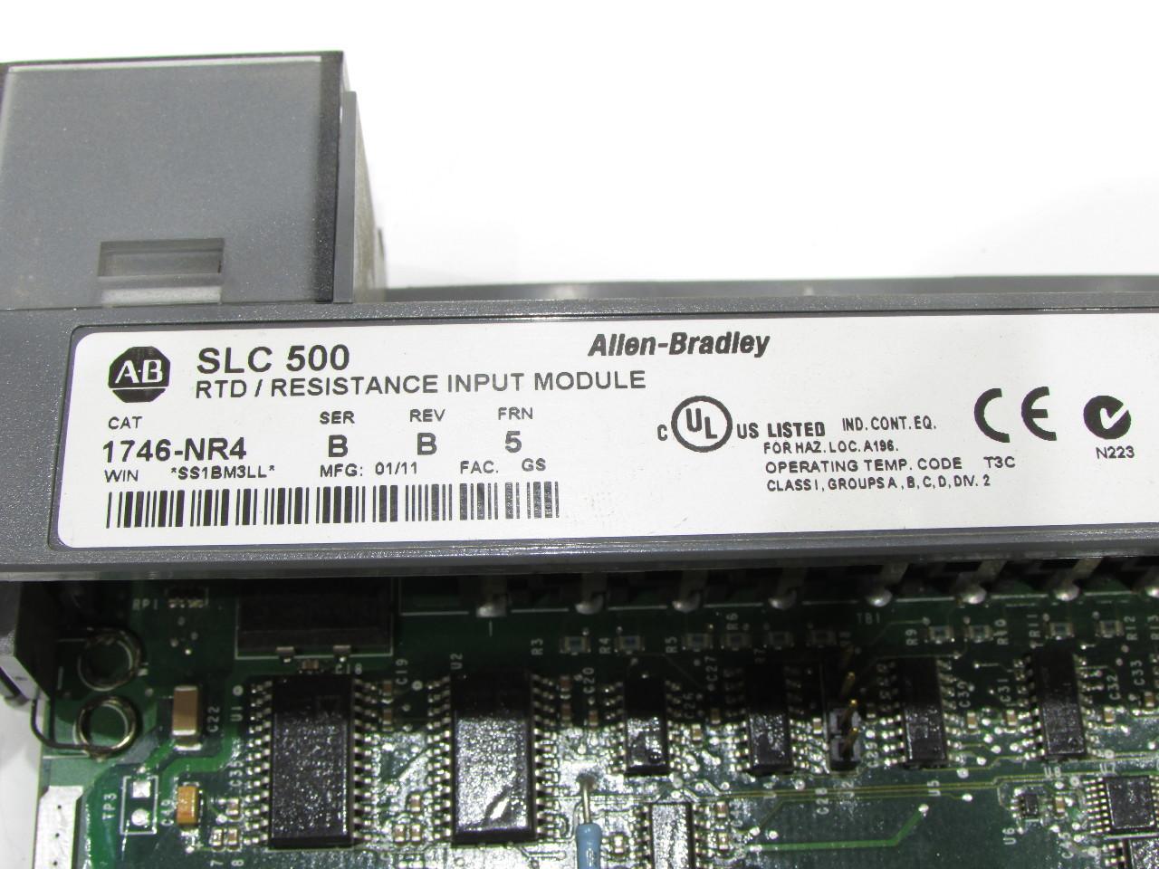 ALLEN BRADLEY SLC  500 1746-NR4