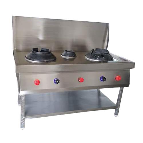 Stainless Steel Three Gas Burner