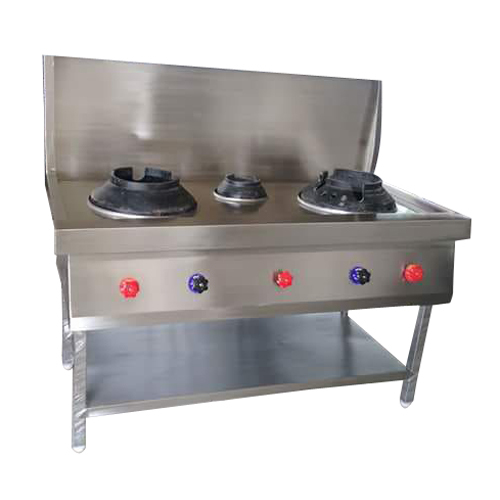 Stainless Steel Three Gas Burner
