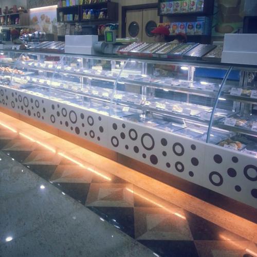 Sweet Namkeen Display Counter