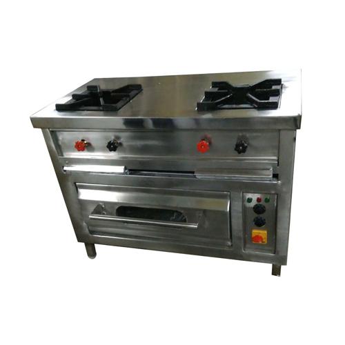 Two Burner Gas Cooking Range