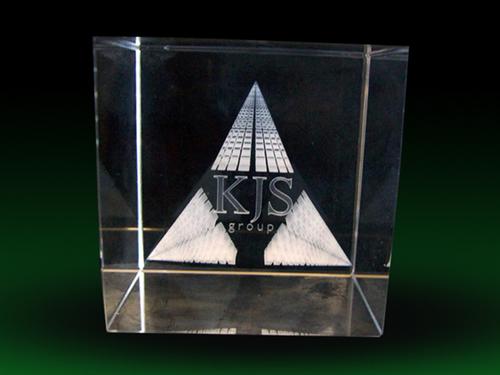 3D Laser Crystal Art