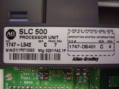 ALLEN BRADLEY SLC  500 1747-L542