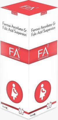 Ferrous ascorbate + folic acid syp