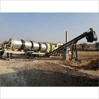 Rotary Mix Drum Dryer Plant