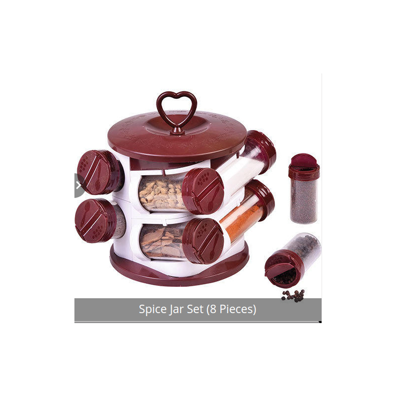 Plastic Spice Jar