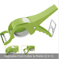 Portable Fruit Cutter And Peeler