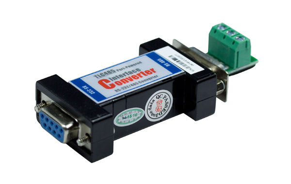 Port-powered RS-232 to RS-485 Converter