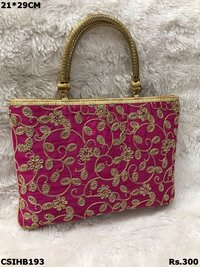 Embroidered Handbags