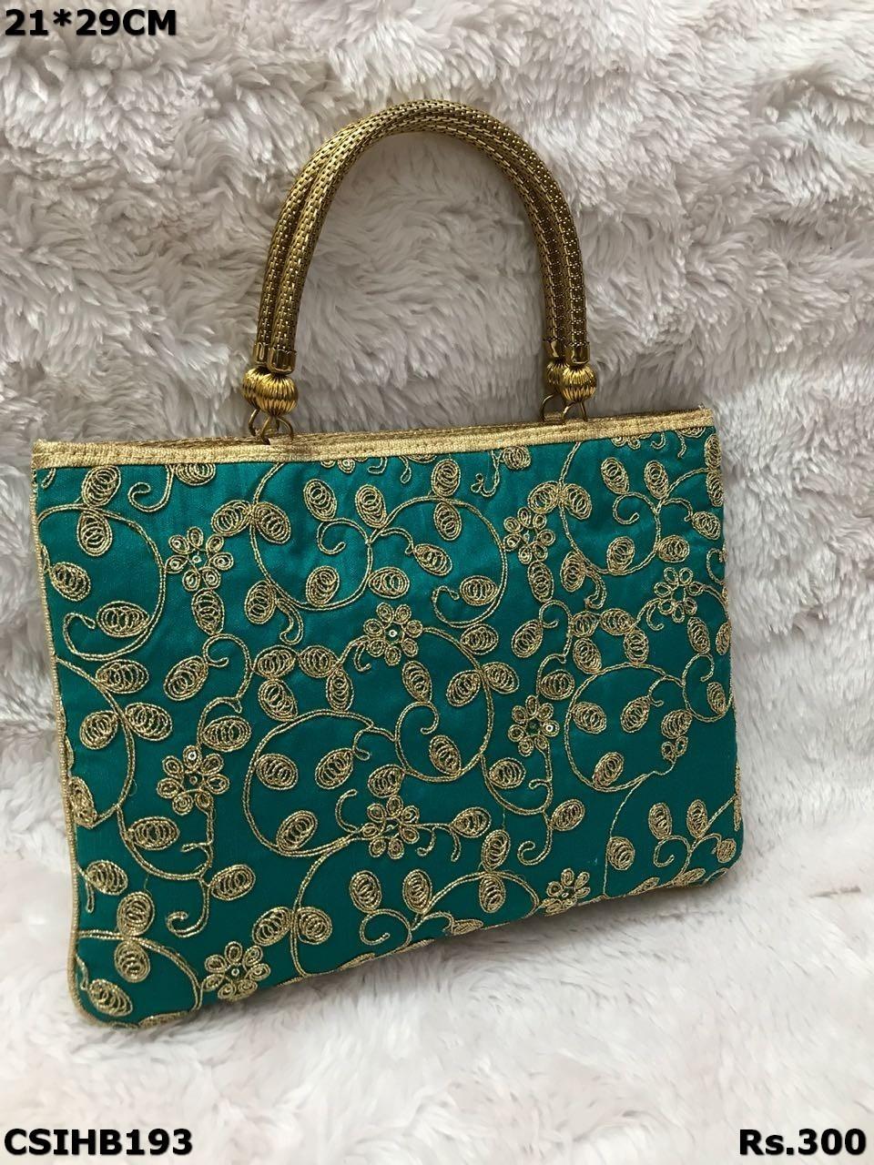 Embroidered Handbags