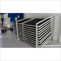 Tiles Display sliding racks
