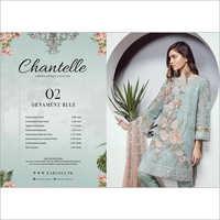 Baroque Chantelle Chiffon Suits
