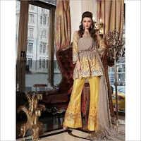 Designer Bridal Chiffon Suit