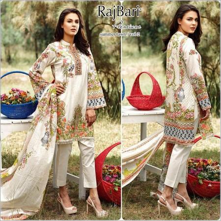 089e7b7a3a Rajbari Original Pakistani Lawn Suits With Voil Dupatta Supplier ...