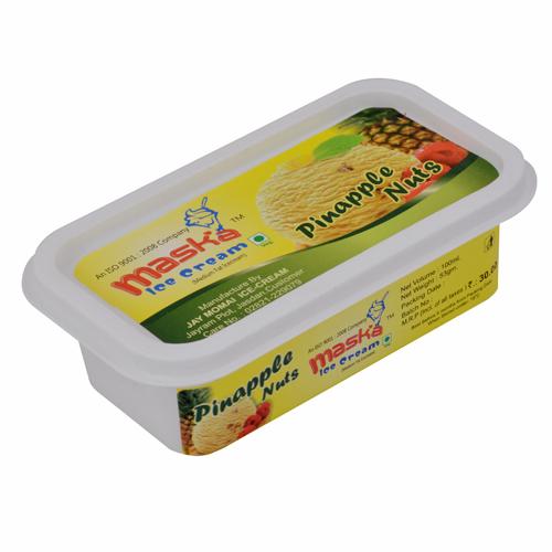 Fresh Pineapple Ice Cream