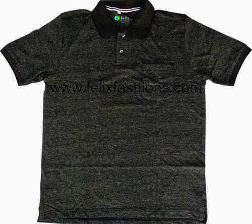Knit Polo T Shirt