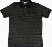 Knit Polo T Shirt