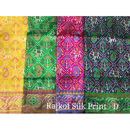 Silk Designer Print Sarees