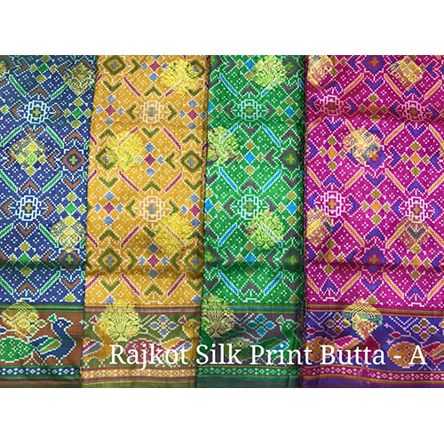 Silk Print Butta Sarees