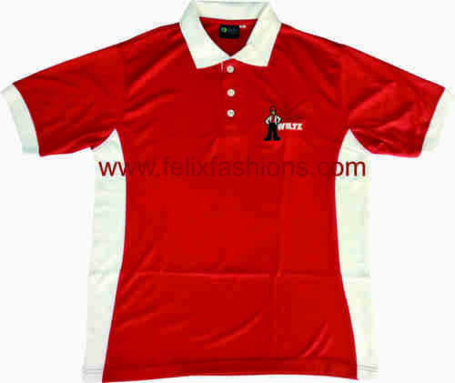 Red Polo Nect T Shirts