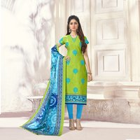 Amazing Formal Suit With Printed Dupatta