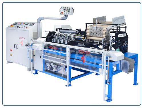 Automatic Convolute Labelling Machine