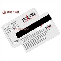 Silver Card Magnetic