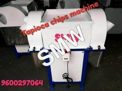 Maravalli Kizhangu Chips Cutting Machine