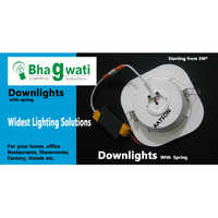 Downlight Body (With Spring)