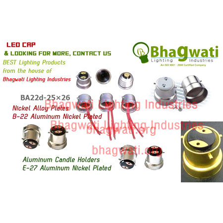 LED Alumunium Cap