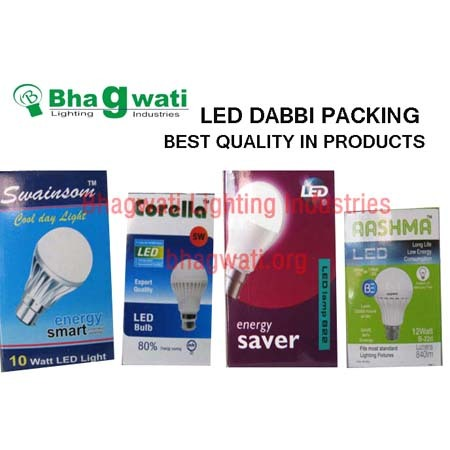 Led Dabbi Packing