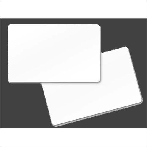 Plain PVC White Cards