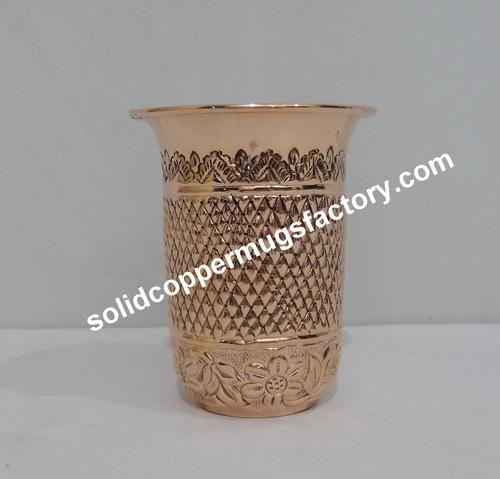 Modern Copper Tumbler