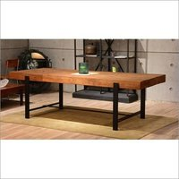 Industrial Wooden Dinning Table