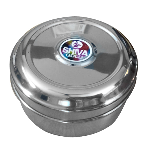 Stainless Steel Round Box - VISHAL METAL INDUSTRIES, B-81