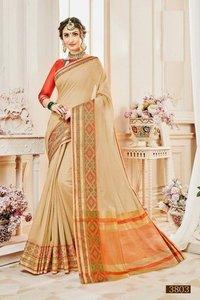 Ladies Designer Silk Wedding Wear Saree