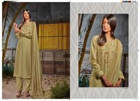 Hand Work Designer Straight Salwar Suit