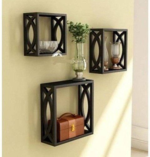 MDF Wall Shelf (Number of Shelves - 3)