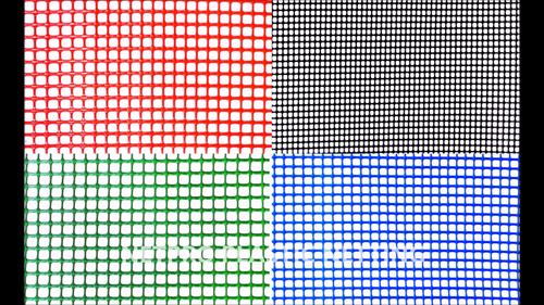 Flat Square Net (Rical Process)