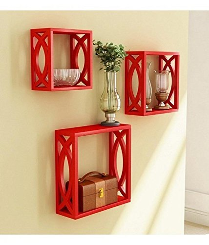 Home Decor/ Wall Decor MDF Wall Shelves Set Of 3