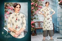 Designer Fancy Daily Wear Plazzo Kurti