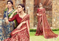 Ladies Designer Printed Daily Wear Saree