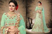 Heavy Jari Work Designer Bridal Wear Lehenga Choli