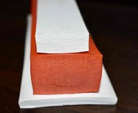 Silicone sponge profiles and sections