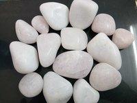 White Polished Pebbles stone