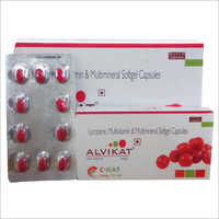 Lycopene + Minerals +Vitamins + Combination Capsule